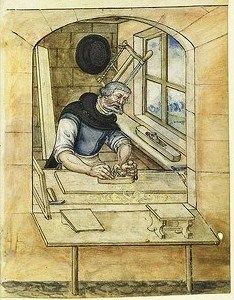 It's About Time: Illuminated Manuscripts - 1400s Craftsmen & Shopkeepers in Nuremberg, Germany