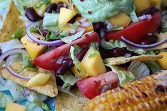 Recept: mexicaanse salade met gegrilde maiskolf