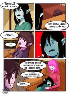 Read 15 from the story Las Aventuras de Simon Abadeer by bites-the-dust (💥) with reads. «Créditos a Omy-chan. Adventure Time Finn, Adventure Time Fanfiction, Adventure Time Comics, Adventure Time Characters, Adventure Time Marceline, Princess Adventure, Cute Comics, Funny Comics, Princesse Chewing-gum