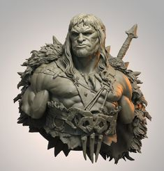 http://www.zbrushcentral.com/showthread.php?209152-Raul-s-Works&p=1221135&infinite=1#post1221135