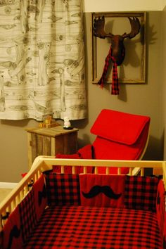 "Blake's ""outdoor"" nursery"