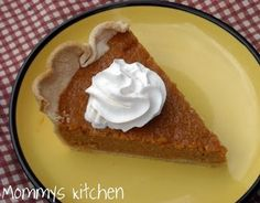 Mommy's Kitchen: Southern Sweet Potato Pie