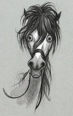 Thelwell horse by Secret Agent Marketing, via Flickr