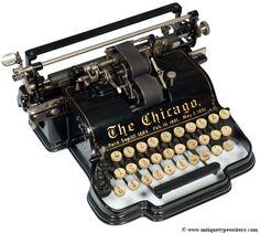Algunas de las máquinas de escribir más antiguas y bonitas del mundo