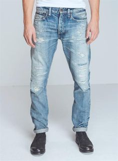 razor-5yj - Denim - Shop man - DENHAM the Jeanmaker