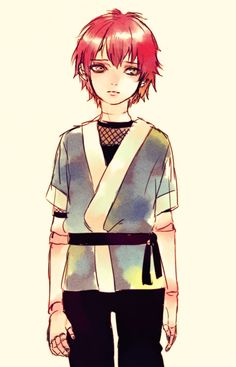 Sasori very cute for a puppet xD