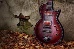 Great Red , Custom #guitar by Hutchinson Gguitars