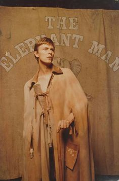 Elephant man - David Bowie - Unexpectedly good.  Believe is was or was close to his acting debut.