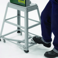 Interesting mobile base design from the UK: Record Power BS250-AW Stand & Wheel Kit for BS250 Bandsaw