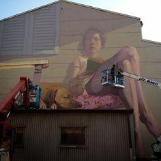 Etam Cru New Mural - Boras, Sweden