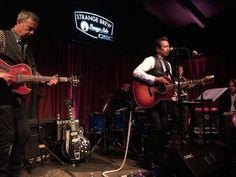 Alejandro Escovedo brought his rock band to @strangebrewatx tonight. #austinmusic #livemusic
