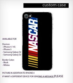 Nascar logo Case For iPhone 4/4S iPhone 5 Galaxy S2/S3 | GlobalMarket - Accessories on ArtFire