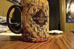 Marauder's Map #coffee mug. #HarryPotter