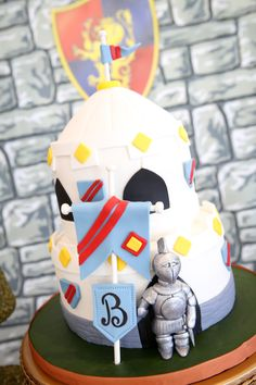 Brave Knight Guest Dessert Feature | Amy Atlas Events