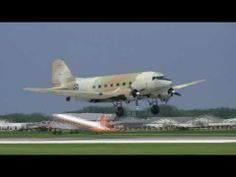 "DC-3 & C-47 Mass Arrival - EAA Airventure 2010 / Special Report / History Aviation (7) / DC-3 Dakota: The Famous & Heroic ""Skytrain..!"""