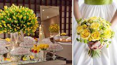 Greenery na decoração de casamento