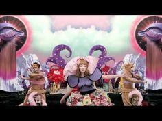 ▶ きゃりーぱみゅぱみゅ - つけまつける , Kyary Pamyu Pamyu - Tsukematsukeru - YouTube  I like it for the Alice in Wonderland like feel.