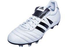 5737d7e44b adidas Kids Gloro FG Soccer Cleats - White with Black