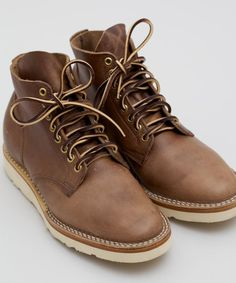 Viberg 1950 Service Boot in Natural