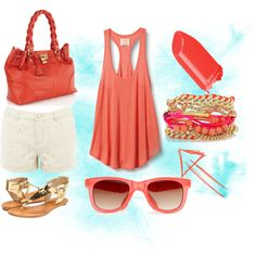 Beach Vacation? I think yes., created by lovelyocean on Polyvore
