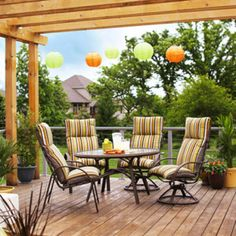 Deck for Small Backyard