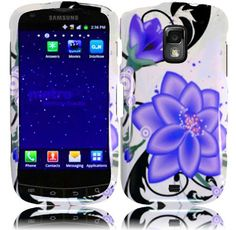 Buy For Samsung Galaxy S Lightray 4G R940 Hard Design Cover Case Violet Lily NEW for 3.99 USD | Reusell