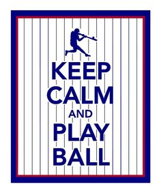 Keep Calm and Play Ball Print.seems to be the motto in this family :D Baseball Quotes, Baseball Boys, Baseball Party, Baseball Season, Baseball Birthday, Baseball Stuff, Football, Baseball Games, Baseball Cap