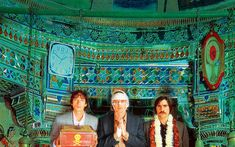 The Darjeeling Limited Wes Anderson (2007) This movie mesmerized me with pastels. It made me think that spiritual growth comes from the pitfalls in you journey not scheduled stops and closure you are looking for might be right in front of you.  Visually arresting and personally touching.