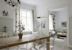 This house here located in Danish town of Frederiksberg doesn't look to be nine decades old. It has been recreated in a manner that it can now put the best of contemporary homes to shame for such is the coziness this structure reflects. It is the kind of house you want to reside in, the moment you come across the pictures.
