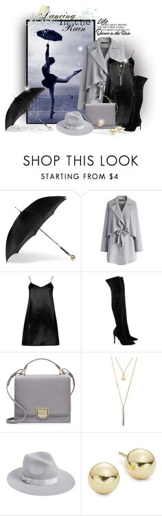 """Dancing in the rayn"" by elona-makavelli ❤ liked on Polyvore featuring Alexander McQueen, Chicwish, Boohoo, Kendall + Kylie, Smythson, Chicnova Fashion, Lack of Color, Lord & Taylor and WALL"