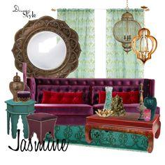 """Disney Style : Jasmine"" by missm26 on Polyvore"