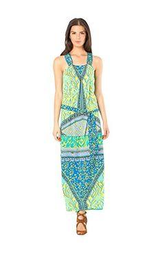 Hale+Bob+Women's+Maya+Maxi+Dress+Size+Large+