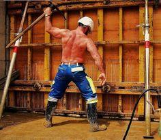 #hardhat #workingman #construction #bluecollar Hard Hats, Working Man, Construction Worker, Sexy Ass, Work Hard, Men, Dandy, Google Search, Boots