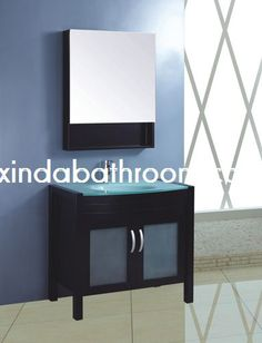 Xinda Bathroom Cabinet Co.,LTD provide the reliable quality glass bathroom vanity units and vanity table glass top and glass vanity unit with CE,SASO,Cupc approved.