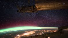 Happy St. Patrick's Day! Celebrate with this beautiful video of green auroras, as seen from outer space!