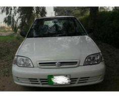 Suzuki Cultus White Color Model 2007 New Tyre For Sale In Sahiwal