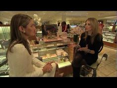 Victoria sat down with beauty royalty Aerin Lauder during a recent visit to Neiman Marcus NorthPark to promote her AERIN line.