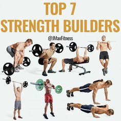TOP 8 FAT LOSS EXERCISES by - The formula for losing fat is simple: - Caloric Deficit High Protein Weight Training = Fat Loss - You don't need to spend long hours doing slow boring cardio. If you want to lose fat fast then all you need to d Muscle Mass, Gain Muscle, Build Muscle, Muscle Building, Muscle Food, Hiit, Mass Builder, Big Muscle Training, Weight Training Programs