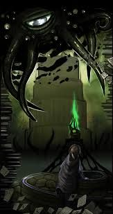 Hermaous Mora. Skyrim. And, let's face it_ Cthulhu.