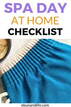 Get everything you need for an amazing spa day at home with this checklist. #skincareproducts #skincarediy #diyskincaretips #selfcare Skincare For Oily Skin, Drugstore Skincare, Spa Day At Home, Home Spa, Spa Tag, Diy Skin Care, Wellness, Outdoor Blanket, Amazing