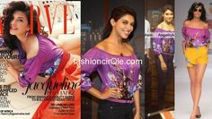 Same Pinch : In Hemant & Nandita : Asin and Jacqueline. Apart from being co-stars in their upcoming film 'Housefull 2′, both Asin and Jacqueline have one more thing in common.    Both the actresses were spotted wearing the same Hemant & Nandita blouse. Asin wore the same blouse for her ETC interview, and paired it with dark denims.