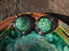 Turtle Bowl by Dragonware on Etsy