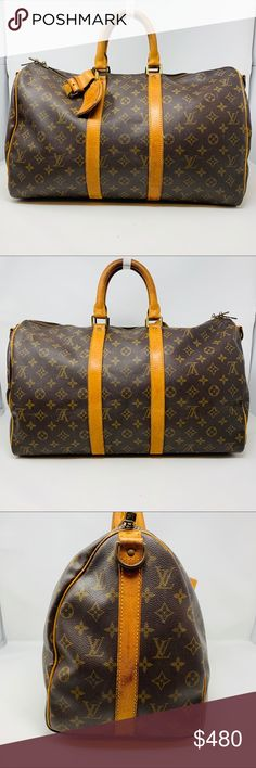 84f32dad3 Authentic Louis Vuitton Keepall 45 This is an authentic, pre-owned LOUIS  VUITTON Bag