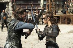 the 100 - lexa and roan