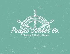Pacific Amber Co. by Andres Jasso Other nautical logos within link