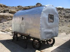 Old Sheep Wagon, via Flickr.