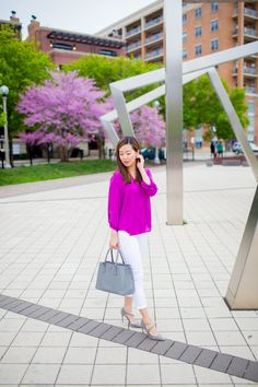 casual office wear business casual outfit tia perciballi fashion blog