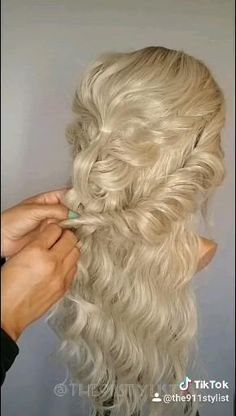 Formal Hairstyles For Long Hair, Summer Hairstyles, Pretty Hairstyles, Mermaid Hairstyles, Braided Hairstyles, Wedding Hairstyles, Men's Hairstyle, Hairstyles Haircuts, Wedding Hair And Makeup