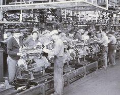 Buick Engine Assembly, Flint Michigan