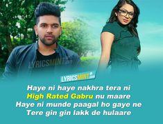 High Rated Gabru Lyrics - Guru Randhawa